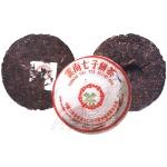 2001-01绿中绿印青饼(尖出7432)-生