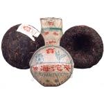 2002-勐海尖出红带沱(茶厂版100克)-生