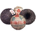2002-勐海尖出红带沱(茶厂版250克)-生